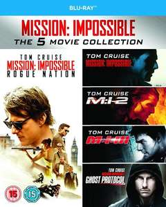 Mission: Impossible 1-5 Collection Blu-ray £14.99 @ HMV - Free Delivery