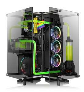 Thermaltake Core P90 TG Mid Tower Liquid Cooling System - Black £169.98 @ Amazon