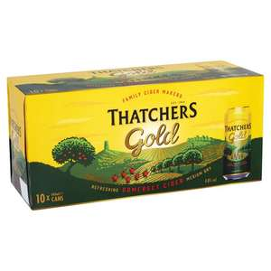 10 x 440 ml Thatchers Gold for £7.20 @ CO-OP