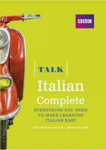 Talk Italian Complete (Book/CD Pack) at WH Smiths for £7.49 (free C&C)