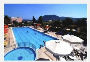 Family School holiday 7 nights in Kos 28th July from Manchester- S/C, 3*, 2a + 2c in onebed apt