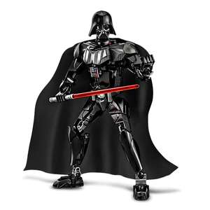 STAR WARS DARTH WADER Miniature Building Block, Figure ABS Toy - 10.2 inch - £4.28 from GAMISS