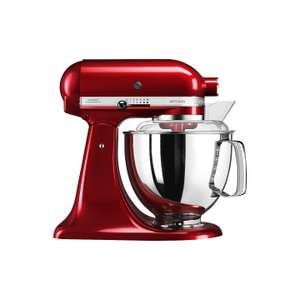 KitchenAid 175 Artisan 4.8L Stand Mixer, Candy Apple and Iron Black £299 @ John Lewis