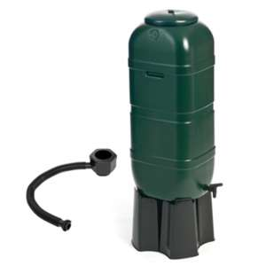 100L Slimline Water Butt And Stand - Green - £19.99 instore @ The Range (Exeter)