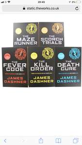 Maze Runner Book Collection 5 Books £10 or with Coupon £7.50 @ The Works (free C&C)