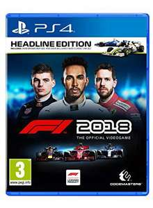 Preorder - F1 2018 Headline Edition PS4 / Xbox One - £41.85 @ Base