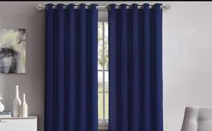 Clearance Eyelet curtains only £9 (85% off) @ Groupon - £9 (+£1.99 P&P)