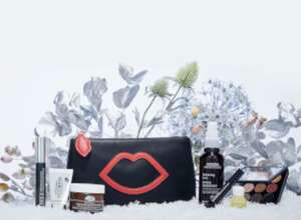 LULU GUINNESS X LOOKFANTASTIC MAKEUP BAG (WORTH £191.00) - £45 @ Look Fantastic