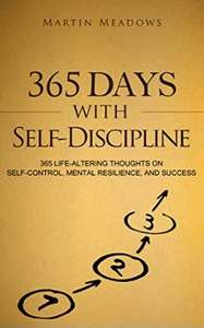 365 Life altering thoughts on self control - 99p Amazon Kindle Edition