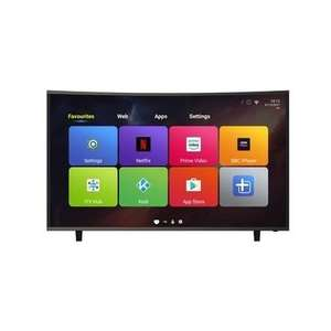 "Electriq eiq-CV55UHDT2SM 55"" 4K curved android smart TV £334.97 (with Which? trial) @ Appliances Direct"