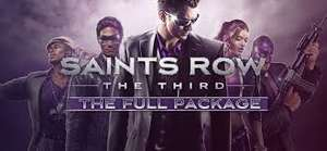 Saints row franchise & Agents of Mayhem pc games, up so 75% off @ steam!
