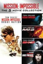 Mission: Impossible - The 5 Movie Collection 4K £14.99 @ itunes