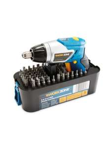 Workzone 3.6V Pivot Handle Screwdriver £14.99 Aldi from 29th (delivery +£2.95)