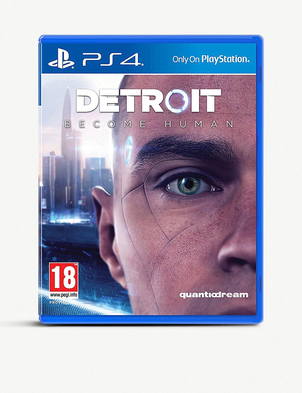 Detroit: Become Human (PS4) £22.94 delivered at Selfridges
