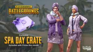 Twitch Prime Members, Free PUBG Loot