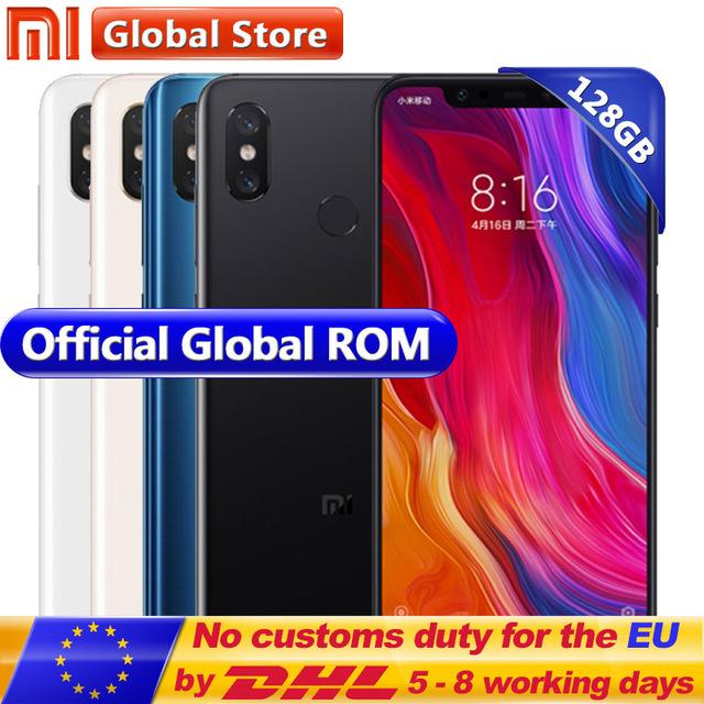 "Global ROM Xiaomi Mi 8 Mi8 Mobile Phone 6GB RAM 128GB ROM Snapdragon 845 Octa Core 6.21""18.7:9 Full Screen 20MP Front Camera NFC Gold colour £351.21 @ mi global / aliexpress"