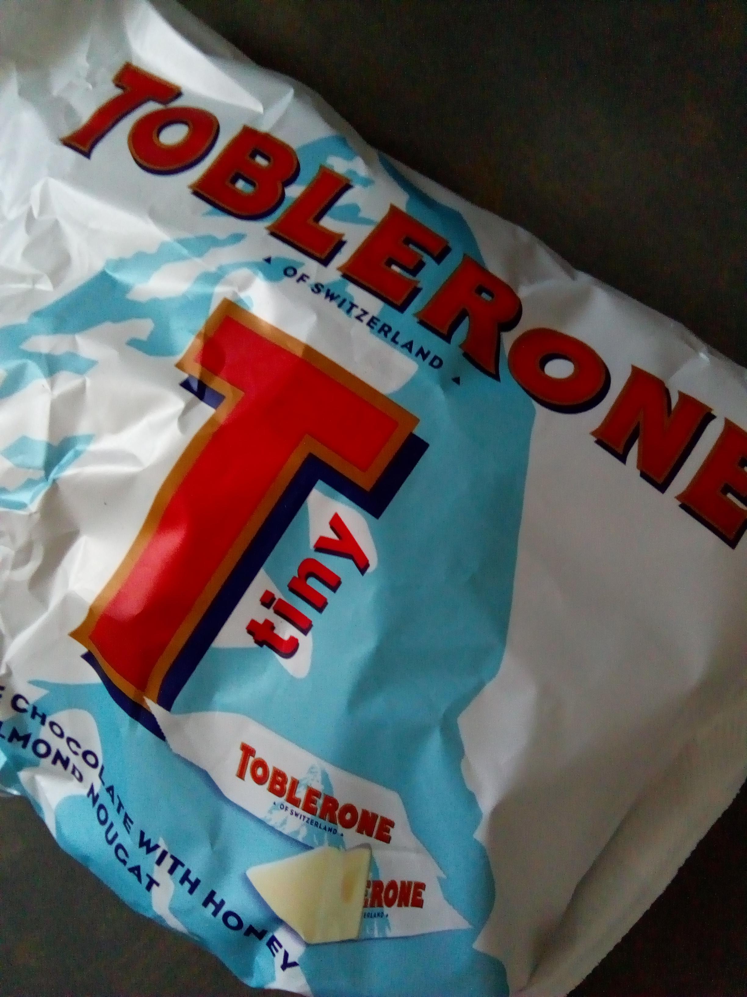 Toblerone Tiny 200g of white or milk chocolate £2 in poundland