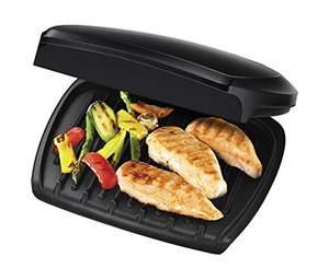 George Foreman Family 5-Portion Health grill at Amazon for £20.99