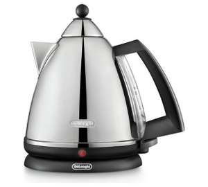 De'Longhi Argento Pyramid Kettle - Stainless Steel at Argos for £24.99 was 89.99