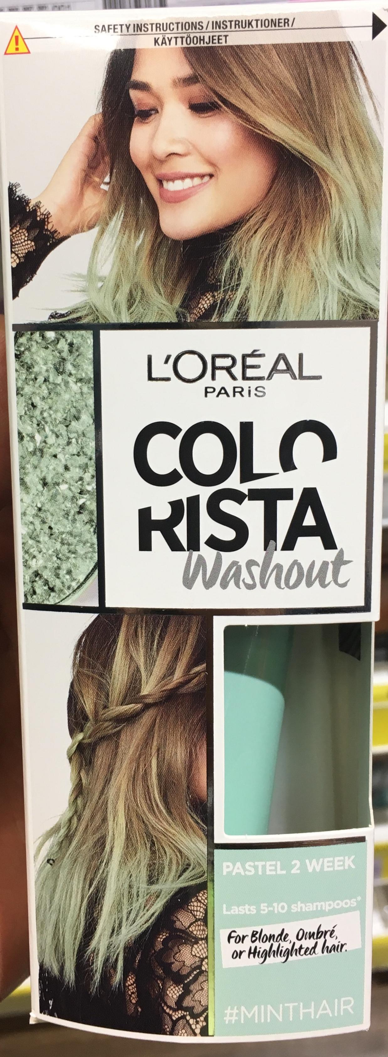 L'Oréal Paris Colorista Washout Mint 8p @ Superdrug