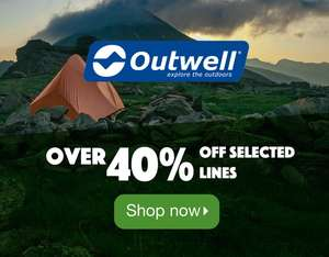Over 40% Off Selected Outwell Tents, Awnings and More at Camping World
