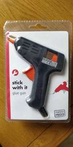 Glue gun with 2 glue sticks instore at Poundland for £2