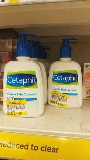 Cetaphil Gentle Cleanser in store Kennington Tesco £4.90