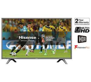 Hisense H49N5700 49 Inch 4K Ultra HD Smart TV with HDR @ Argos (C+C) for £349