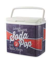 Crane Soda Pop Retro Coolbox £19.99 @ Aldi