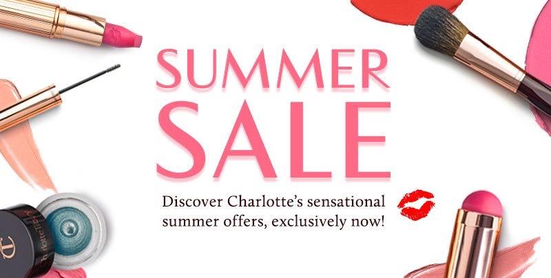 Charlotte Tilbury Summer Sale 30% off