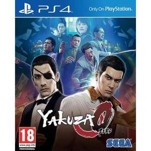 Yakuza 0 PS4 cheap - £14.95 @ The Game Collection