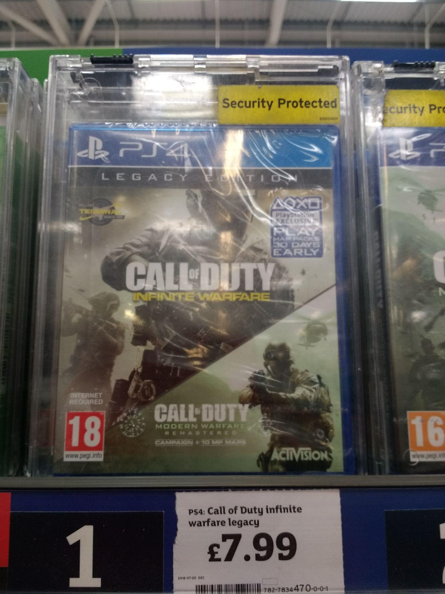 Call Of Duty: Infinite Warfare Legacy Edition PS4 £7.99 @ Sainsbury's