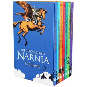 The Chronicles Of Narnia - 7 Book Box Set incl The Lion, The Witch and The Wardrobe £7.50  using code free click & collect @ The Works