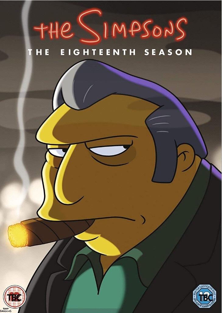 The Simpsons Season 18 DVD Box Set £10.89 (Prime) / £13.88 (non Prime) at Amazon