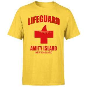 Men's / Women's Jaws Amity Island Lifeguard T-Shirt - Yellow £8.99 Delivered w/code @ MyGeekBox