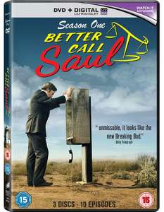 Better Call Saul Season 1 Blu Ray - Breaking Bad The Final Season Blu Ray £1 Each @ Poundland