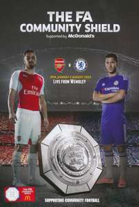 Chelsea v Manchester City Wembley Stadium Sunday, 5 August tickets from £15.00