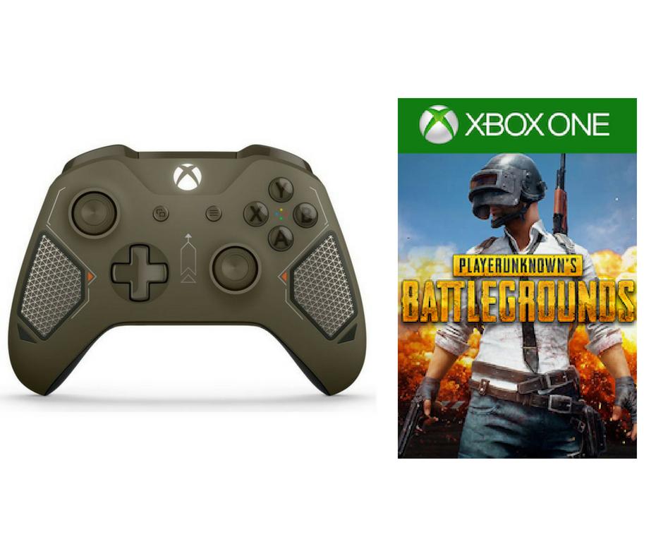 Xbox One Wireless Controller - Combat Tech Green + PlayerUnknown's Battlegrounds for FREE (C&C) - £44.99 @ Argos