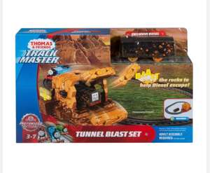 Thomas the tank Track master tunnel blast instore at Tesco £23 down to £13