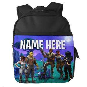 Fortnite back pack personalised with name - £14.99 @ kraftygiftsuk eBay