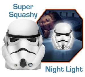 GoGlow Star Wars Stormtrooper Soft Night. 2 for £15 on selected Star Wars items, or individually £5.99 reduced from £9.99 @ Argos
