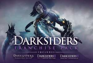 [Steam] Darksiders Franchise Pack (Darksiders Warmastered Edition and Darksiders II Deathinitive Edition) - £3.80 - Chrono.gg
