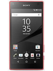 Sony Xperia Z5 Compact Pink VODAFONE (Refurbished - Good) £79.99 @ Music Magpie