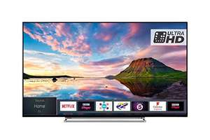 Toshiba 55U5863DB 55-Inch Smart 4K Ultra-HD HDR LED TV (2018 Model) £419 @ Amazon