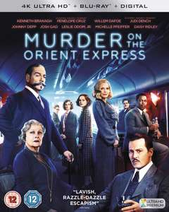 Murder On the Orient Express £6.99 4K HDR @ iTunes