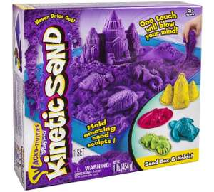 kinetic Sand Sandcastle set (various colours) £8 - Asda