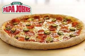 "£1.99  for a 9.5"" pizza or £5.99 instead of up to £17.99 for a 13.5"" pizza with up to 2 toppings from Papa John's - save up to 86% @ Itison"