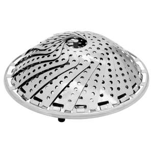 Vegetable Steamer Stainless Steel for £2.25 @ Wilko