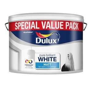 Half Price Decorating Event - Dulux Matt or Silk Emulsion Paint Pure Brilliant White 7.5L was £18 now £9 C+C @ Wilko - more in OP inc Arthouse Unicorn Wallpaper