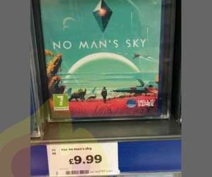 No Man's Sky - PS4 - Sainsbury's - £9.99 In Store